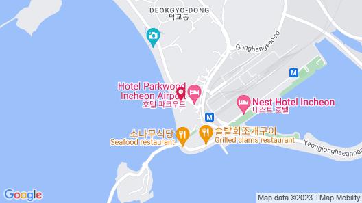 Incheon Airport Yegrina Hotel Map