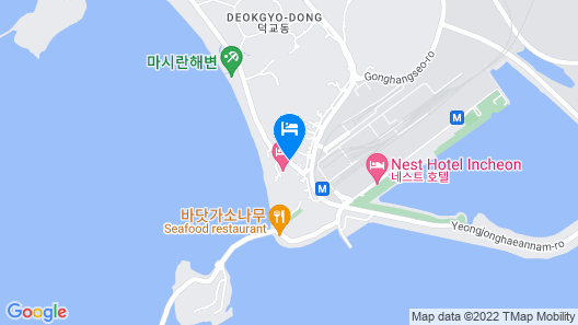 Incheon Airport Hotel Oceanside Map