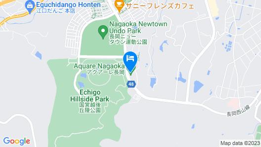 Aquare Nagaoka Map