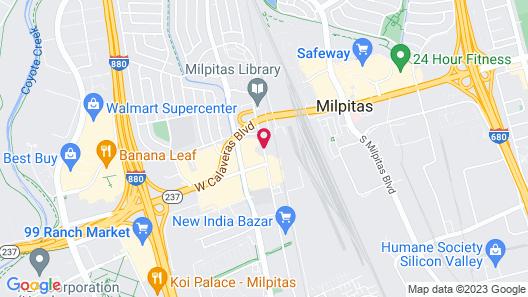 Baymont by Wyndham Milpitas/San Jose Map