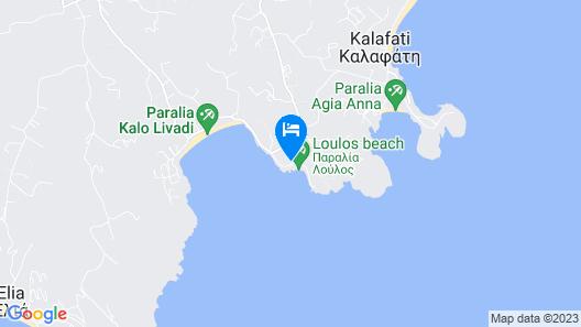 Mykonos Pantheon Map