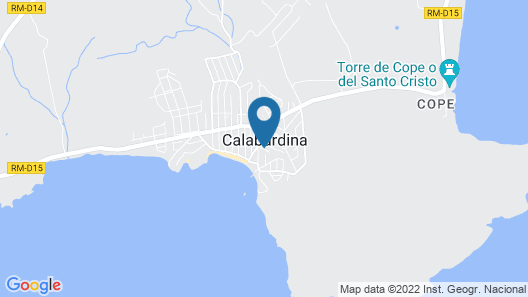 3 Bedroom Accommodation in Calabardina Map