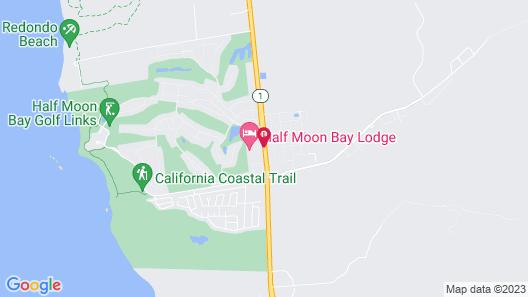 Half Moon Bay Lodge Map