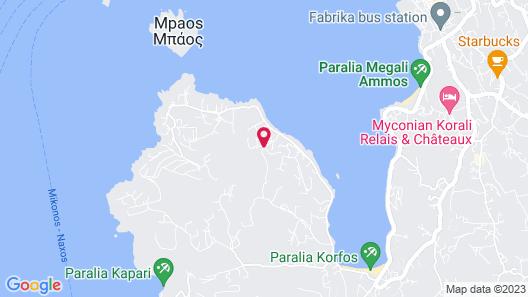Mykonos No5 Map