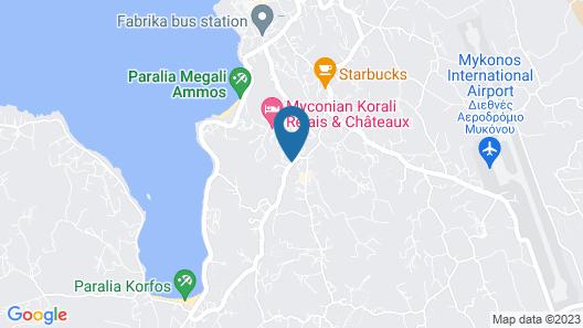 Charissi Hotel Map