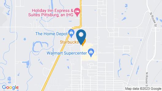 Super 8 by Wyndham Pittsburg KS Map