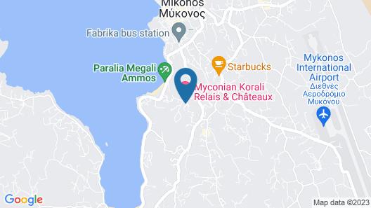 Myconian Korali Map