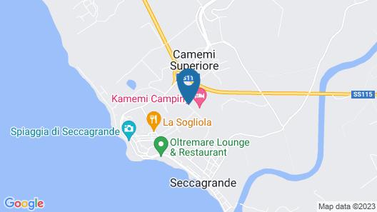Kamemi Camping Village Map