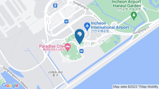 Best Western Premier Incheon Airport Map