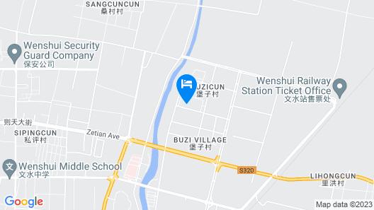 Greentree INN Lvliang Wenshui County People S Hosp Map