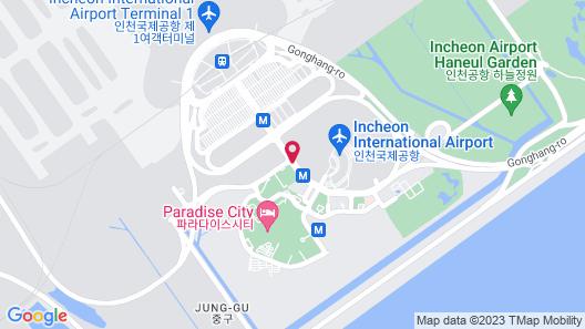 Grand Hyatt Incheon Map