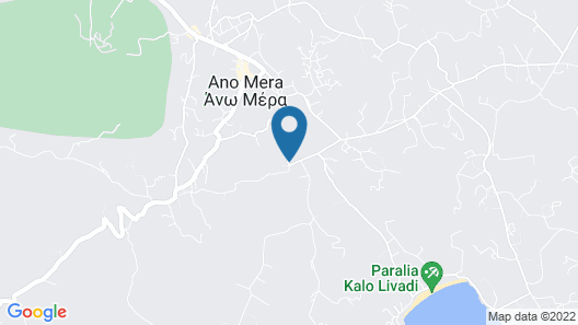 Olive Mykonos Villas Map