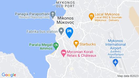 Eternal Suites Map