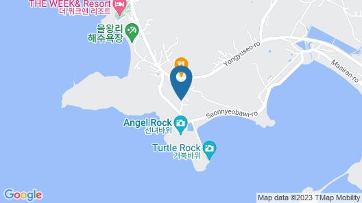 Incheon Airport Oceanview Hotel Map