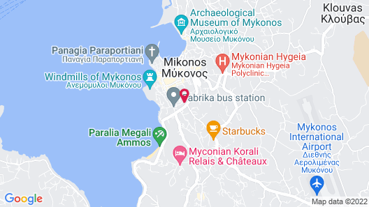 Semeli Hotel Map