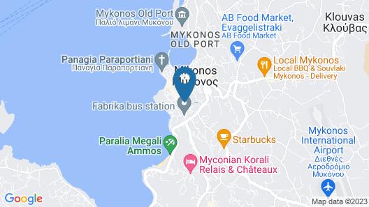 Dimitra Pension Map
