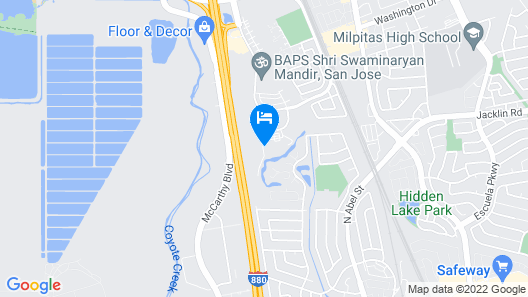 Holiday Inn Hotel & Suites Silicon Valley - Milpitas Map