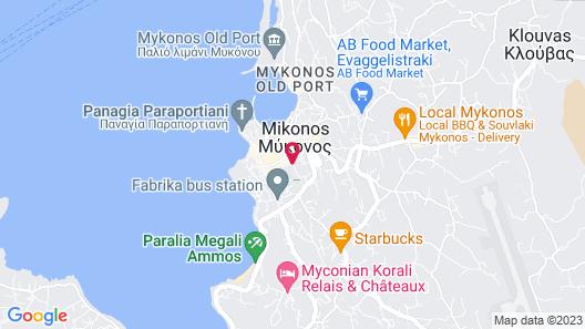 Carbonaki hotel Map