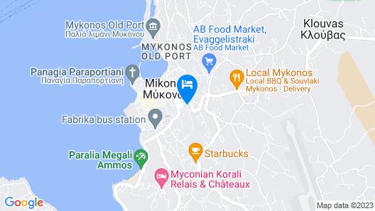 Vencia Boutique Hotel Map