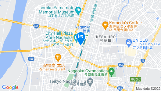 Hotel NEW Green Plaza Map