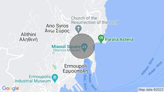 Villa Maria-syros, Narkissos Map