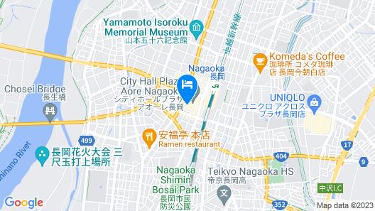 Nagaoka Grand Hotel Map