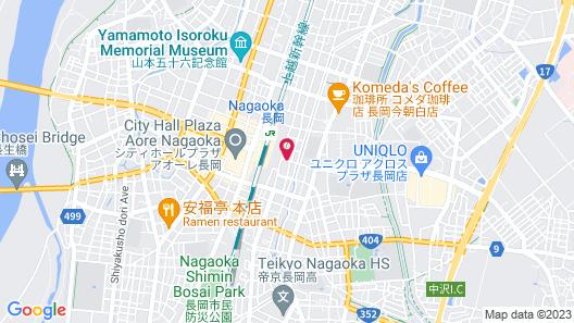 Hotel LiVEMAX Niigata Nagaoka-Ekimae Map