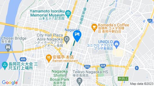 Hotel Mets Nagaoka Map