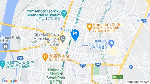 Hotel New Otani Nagaoka Map