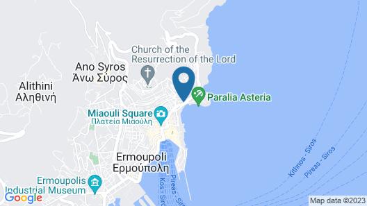 Syrou Melathron Map
