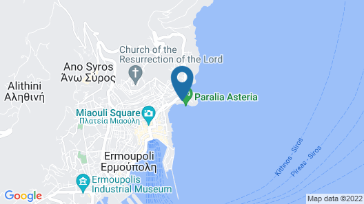 Electra Syros Boutique Hotel Map