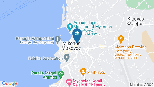 Magas Hotel Map