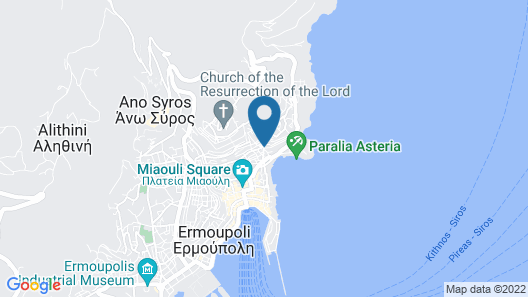 Arhontiko Ermoupolis Map