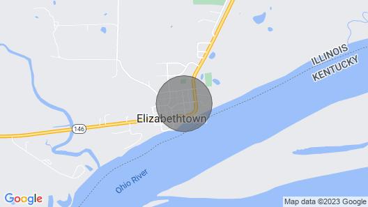 Elizabethtown IL/Ohio River/Shawnee National Forest Map