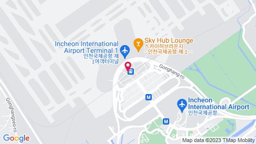 Capsule Hotel Darakhyu (Incheon Int'l Airport T1) Map