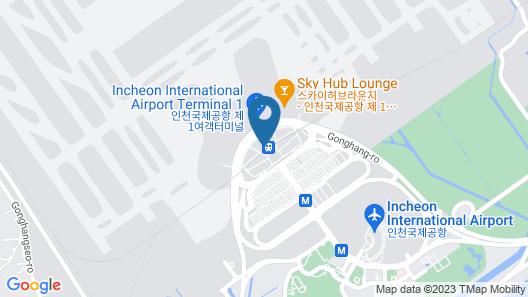 Capsule Hotel Darakhyu - Incheon Int'l Airport T1 Map