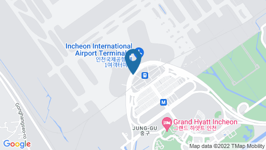 Incheon Airport Transit Hotel (Terminal 1) Map
