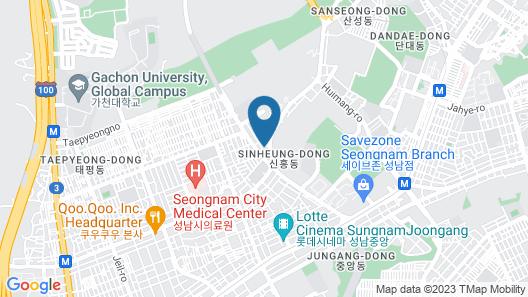 HOTEL E JEN Map