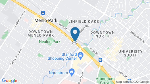Stanford Park Hotel Map