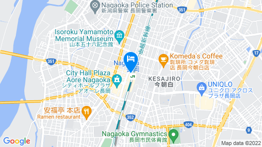Nagaoka Terminal Hotel Map