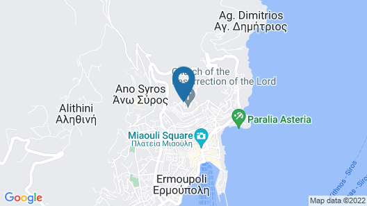 Ermoupoli Comfortable Home Map