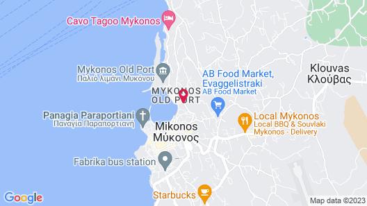Leto Hotel Map