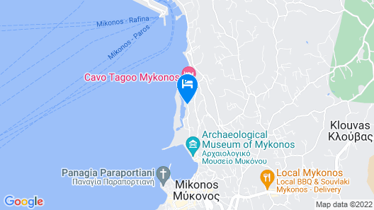 Kouros Hotel & Suites Map