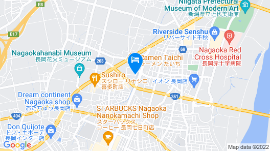 Hotel Route-Inn Nagaoka Inter Map