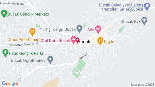 Bucak Dilek Otel Map