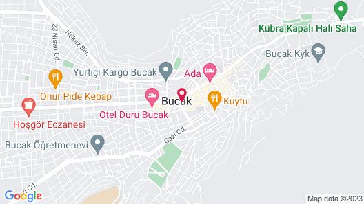 Hotel Inan Map
