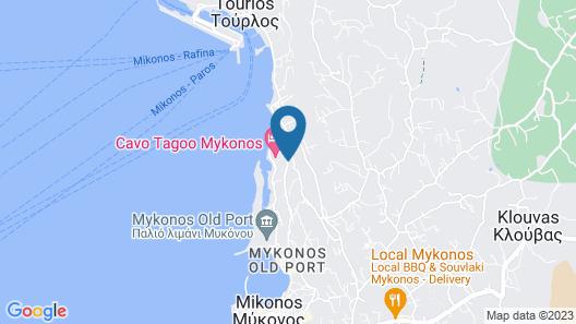 Gorgona Hotel Map