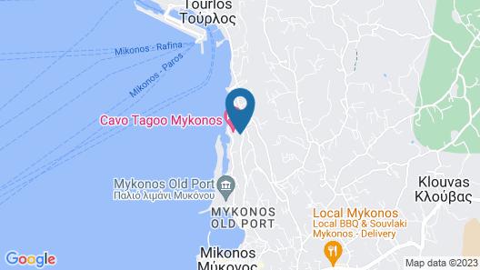 Hotel Tagoo Map