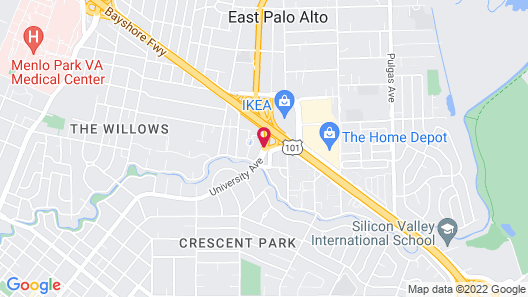 Four Seasons Hotel Silicon Valley at East Palo Alto Map
