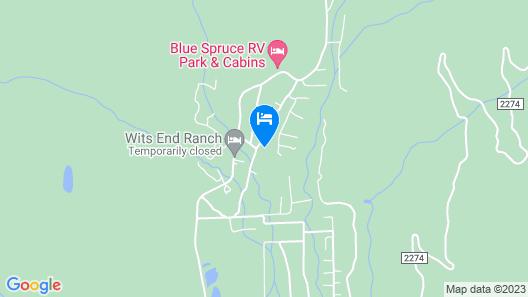 Vallecito Family Retreat Map